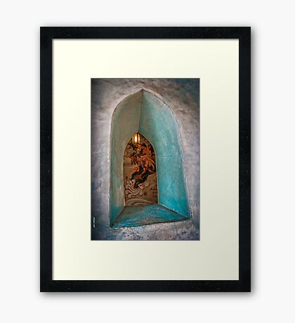 Persian Window Framed Print