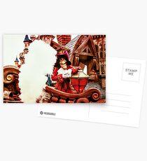 Captain Hook Postcards