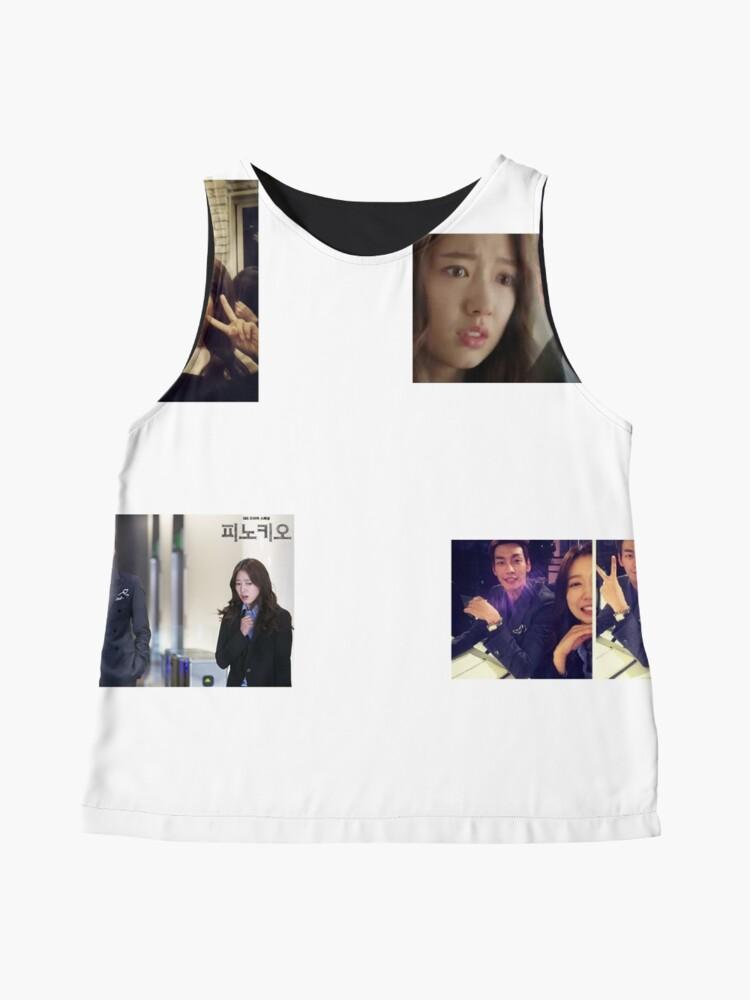 Alternate view of Park Shin Hye + Kim Young Kwang Couple Stickers Sleeveless Top