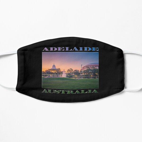 Adelaide Sunset (poster on black) Mask