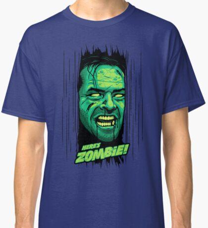 Here's Zombie! Classic T-Shirt