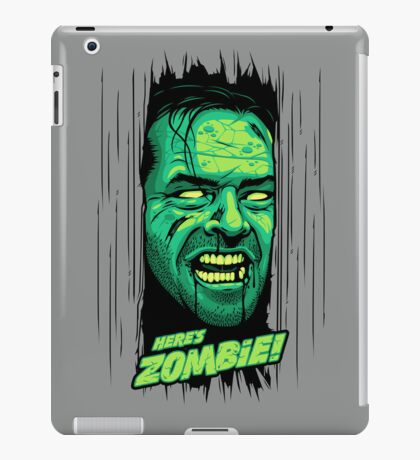Here's Zombie! iPad Case/Skin