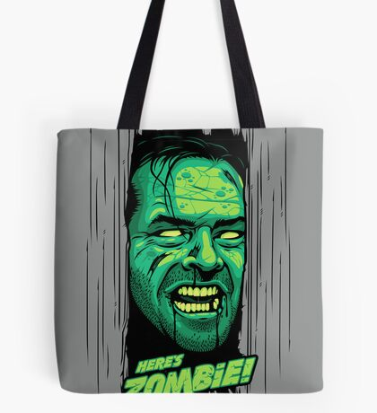 Here's Zombie! Tote Bag