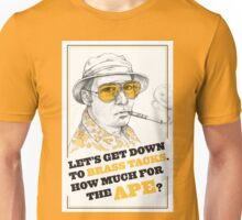 FEAR AND LOATHING IN LAS VEGAS- HUNTER S. THOMPSON Unisex T-Shirt