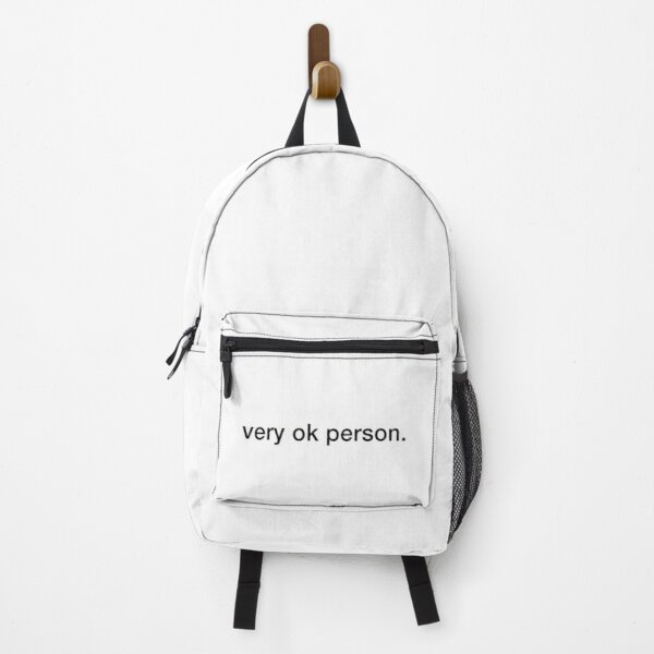 Best Selling - Very OK Person Backpack