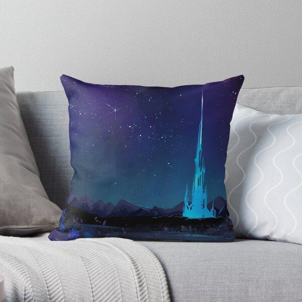 Lakeland at Night Throw Pillow