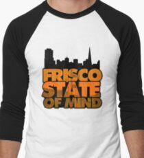 Frisco State of Mind Men's Baseball ¾ T-Shirt