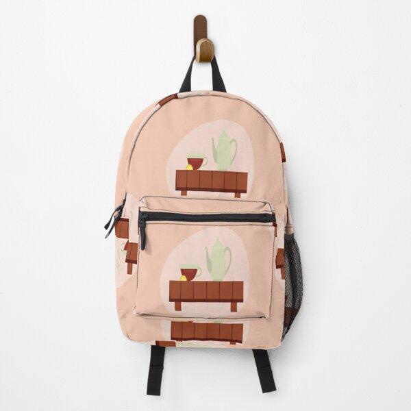 Lemon Green Tea Set Backpack