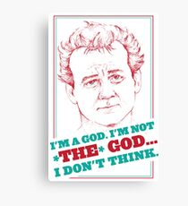 GROUNDHOG DAY - Phil Connors Canvas Print