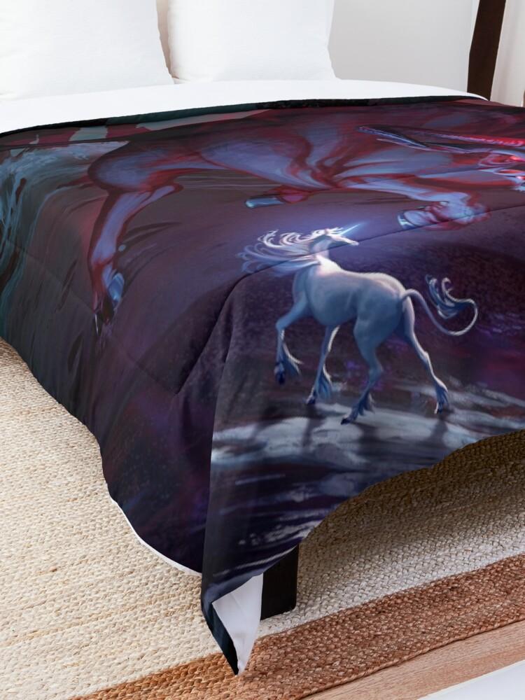 Alternate view of The Last Unicorn Comforter