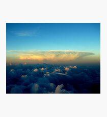 Distance Cloud Bloom Photographic Print