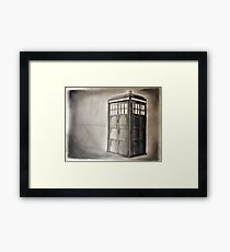 Take a Trip with a Mad Spaceman Framed Print