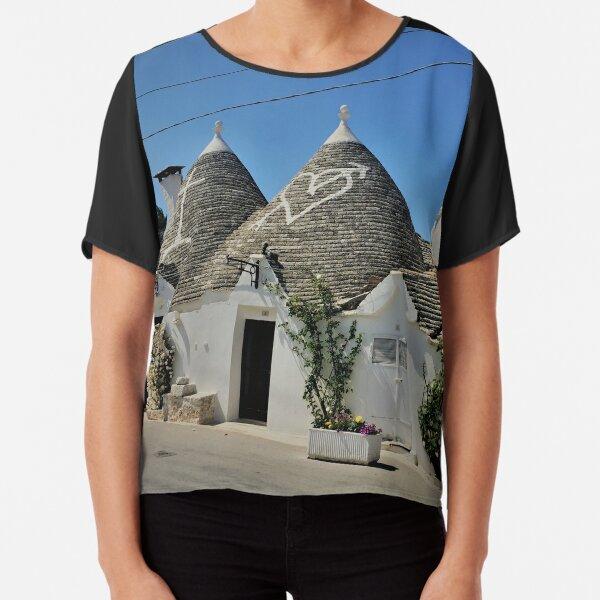 Puglia- Alberobello- Italy Chiffon Top