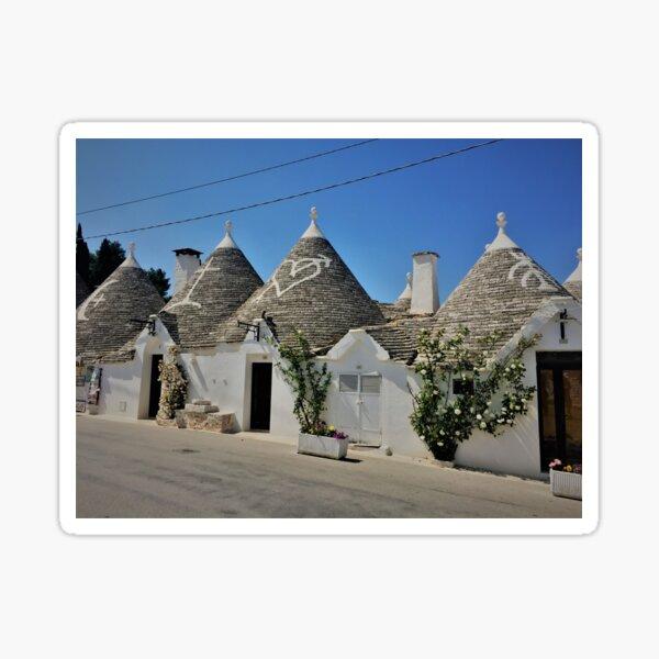 Puglia- Alberobello- Italy Sticker