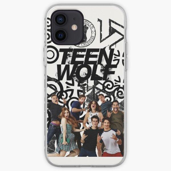 Teen Wolf Cast et symboles Coque souple iPhone