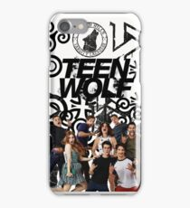 Teen Wolf Cast and Symbols iPhone Case/Skin