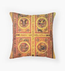 Page from the Book of Kells 3 Throw Pillow