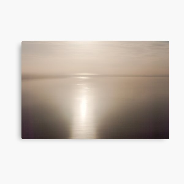 Looking into Lake Eyre, South Australia Canvas Print