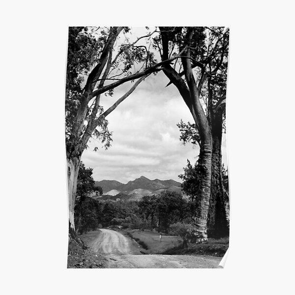 Framing the Flinders Ranges NP - South Australia Poster