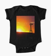 Windmill Sunset Kids Clothes