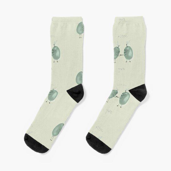 Olive Love Socks