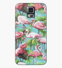 Flamingos Hülle & Klebefolie für Samsung Galaxy