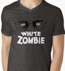 Walter White Zombie Mens V-Neck T-Shirt