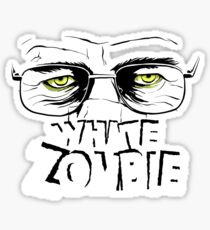 Walter White Zombie Sticker