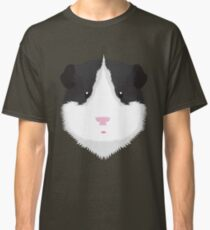 Black and White Guinea Pig Classic T-Shirt