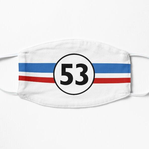 Herbie 53 Classic Racing Car 1963 Circle Logo # 1 Masque sans plis