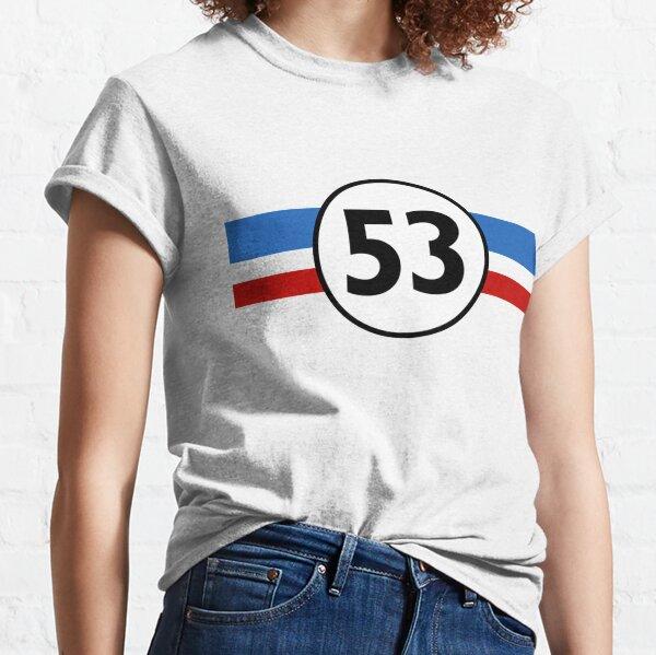 Herbie 53 Classic Racing Car 1963 Circle Logo #1 Classic T-Shirt