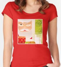 Santa!.. Fitted Scoop T-Shirt