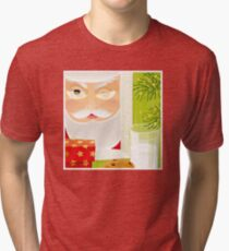 Santa!.. Tri-blend T-Shirt