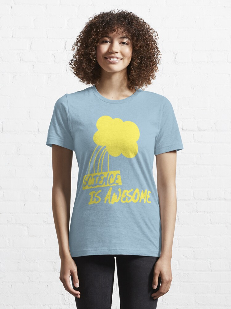 Alternate view of Science is Awesome Essential T-Shirt