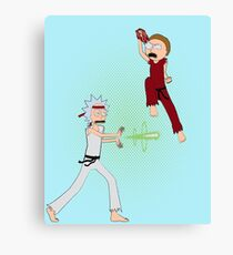 Rick Fighter 2 Canvas Print
