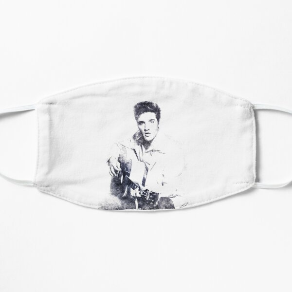 Elvis presley portrait 01 Mask