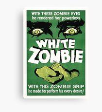 white zombie Canvas Print