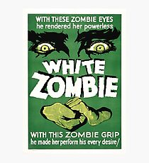 white zombie Photographic Print