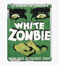 white zombie iPad Case/Skin
