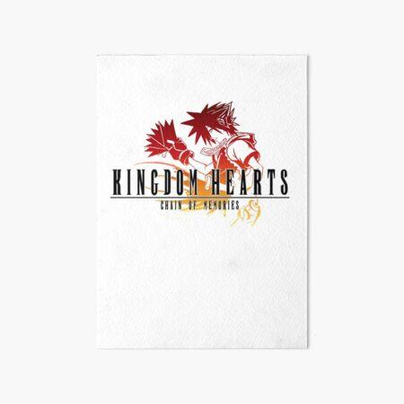 Sora - Kingdom Hearts Chain of Memories Final Fantasy Crossover Art Board Print