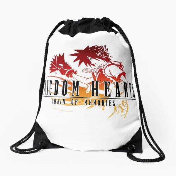 Sora - Kingdom Hearts Chain of Memories Final Fantasy Crossover Drawstring Bag