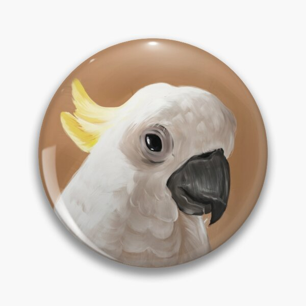 Cockatoo Pin