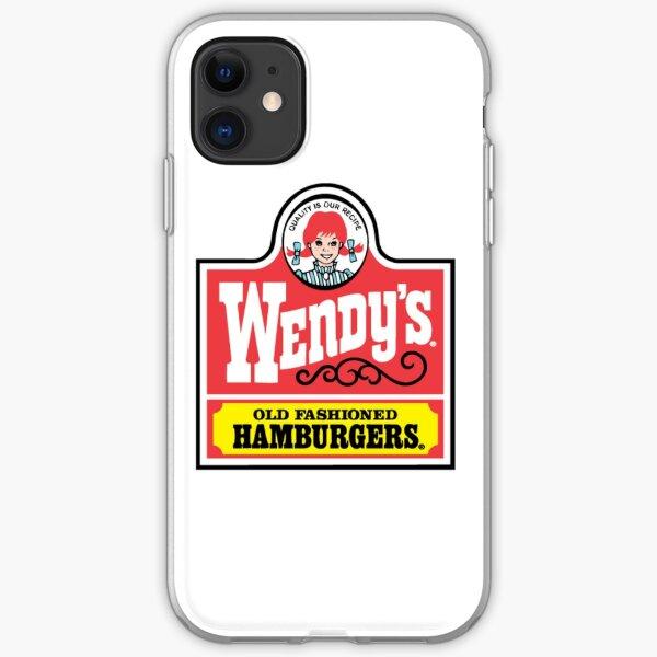 Wendy's retro  iPhone Soft Case