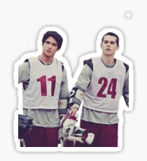 Lacrosse Stiles & Scott  Sticker