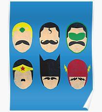 Mustache League of America Poster