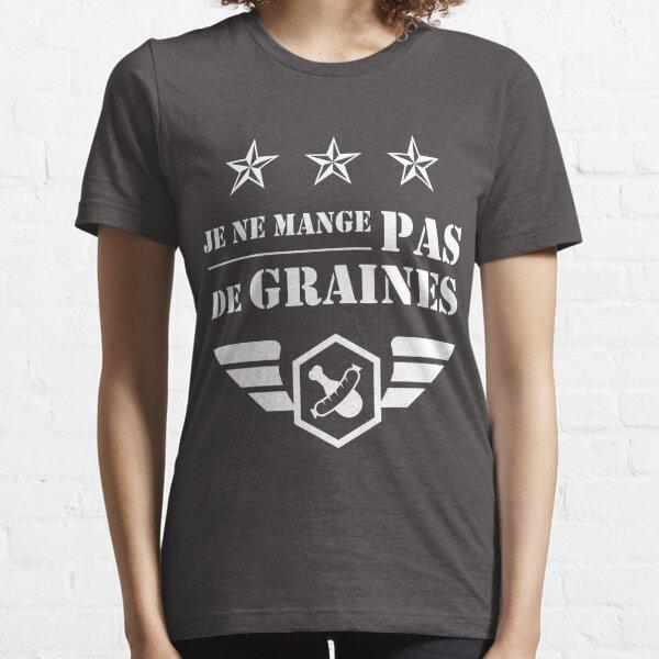 Kaamelott - Pas de Graines (blanc) T-shirt essentiel