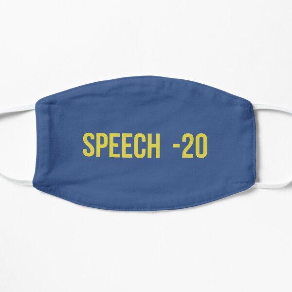 Fallout Speech -20 Flat Mask