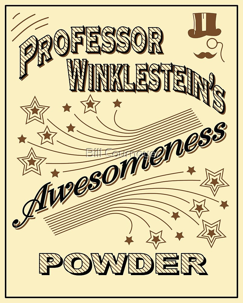 Awesomeness Powder by Bill Cournoyer