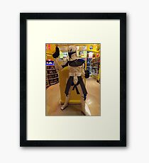 Lego Star Wars, FAO Schwarz Toy Store, New York City  Framed Print