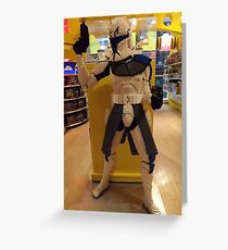 Lego Star Wars, FAO Schwarz Toy Store, New York City  Greeting Card